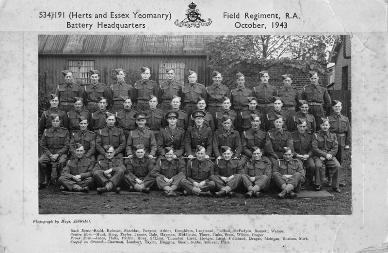 essex yeomanry history