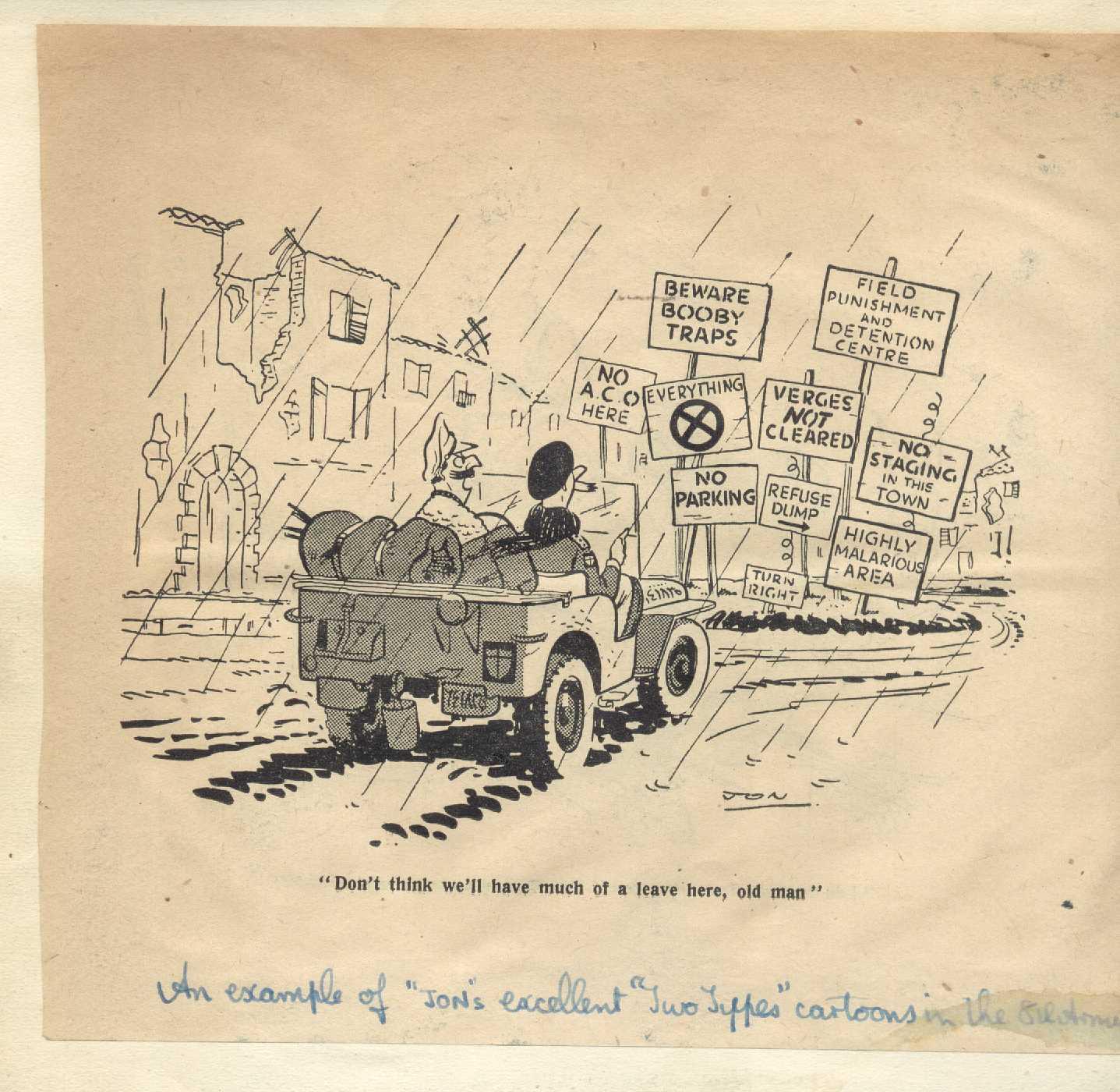 Post WW2 cartoons here    Military History Forum